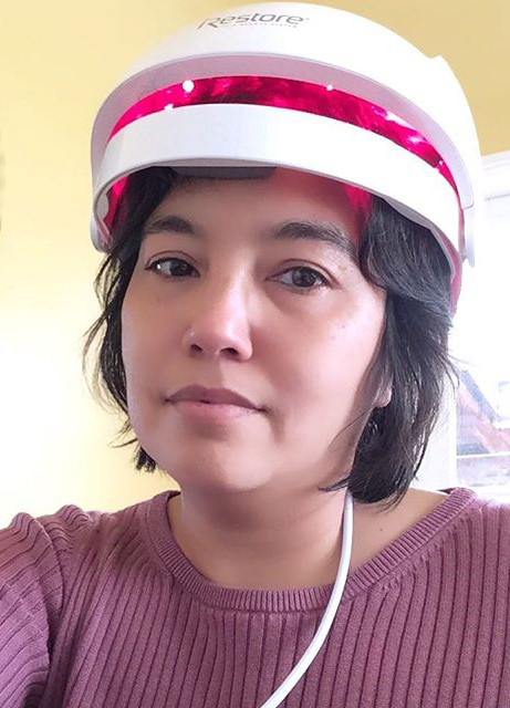 hair helmet